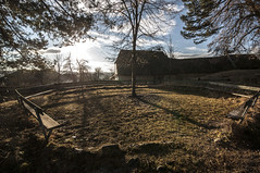Sunbath (Albert Dobrin) Tags: houses sun church landscape bath village traditions charles prince romania transylvania transilvania brasov viscri fortified rual