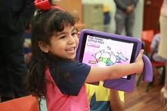 El aula beneficiará a infantes de tres a cinco años.