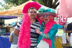 withDame Dolly Devine of Marrickville (Val in Sydney) Tags: festival day sydney australia fair nsw gras dolly dame mardi australie devine marrickville