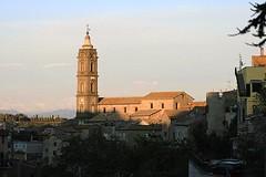 Chiesa di San Giovanni Battista - Campagnano di Roma (One Foot Abroad) Tags: roma architecture foot one san italia via chiesa abroad di giovanni battista francigena campagnano