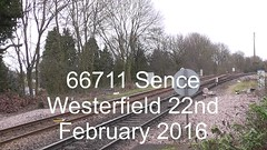66711 Sence (uktrainpics) Tags: 66 class sence 66711