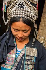 Akha embroidery 2 (Laura Jacobsen) Tags: laos hilltribe akha phongsaly phongsali akhanoukouy