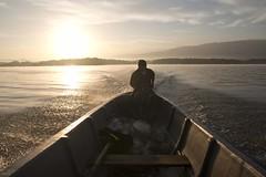 Morning ride (ramosblancor) Tags: lake sunrise lago boat couple barca native pareja guatemala amanecer american tribes humans lancha humanos nativos tribus rodulce elgolfete