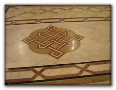 Floor mosaic inside the House of Parliament in Buchrest (cod_gabriel) Tags: floor mosaic romania parlament bucharest bucuresti mozaic bukarest roumanie boekarest bucarest casapoporului romnia bucureti thehouseofparliament podea bucareste