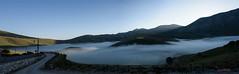 Castelluccio di Norcia: . . . al sorgere del sole (2015) (Orarossa) Tags: italy fog italia alba nebbia umbria castellucciodinorcia