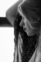 Window Gaze (Jeffrey Michael Parsons) Tags: portrait people blackandwhite bw woman sexy girl monochrome beauty relax model gorgeous peaceful tranquility calm dreamy windowlight ef200mmf2lisusm eos5dmarkii andreanancy