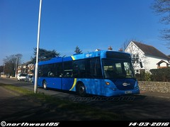 6560 (northwest85) Tags: street west bus worthing 23 scania metrobus broadwater lkg 6560 omnicity yn07 yn07lkg