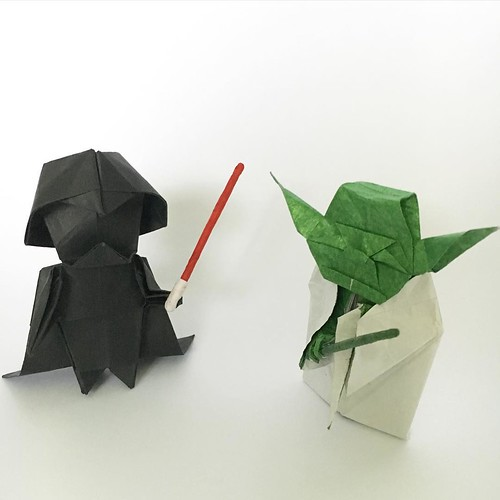 Tag Someone Who Likes Star Wars Origami Darthvader Designed