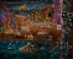Gatemporaneo (STAN-ART) Tags: costa colombia el rica stan gato actor nicaragua pintor tico mejor surrealismo contemporneo costarricense stanspinal elmejorpintordecostarica