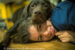 Eli y Nothung (jorge.jama) Tags: labrador perro mejoramigo labradorchocolate