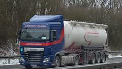 D - Zimmermann >Heinloth< DAF XF 106 SC (BonsaiTruck) Tags: truck silo 106 lorry camion trucks bulk lastwagen daf lorries lkw xf spitzer zimmermann citerne lastzug bulker camiona silozug heinloth powdertank
