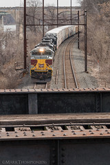 Lackawanna Local (marko138) Tags: railroad train pennsylvania localtrain railfan lackawanna freighttrain norfolksouthern wormleysburg pennsylvaniarailroad railroadphotography sd70ace h95 portroad delawarelackawannawestern heritageunit ns1074
