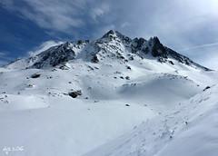 Aiguille de Pclet (Wipeout Dave) Tags: winter ski france alps landscape panasonic alpine valthorens frenchalps hautesavoie lumixdmctz6 wipeoutdave davidsnowdonphotography djs2016