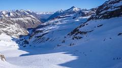 Trasa zjazdu z przeczy Gran Etret 3002m. (Tomasz Bobrowski) Tags: ski mountains alps gry alpy skitouring narty granparadiso valsavarenche graianalps skitury granetret skitura alpygraickie
