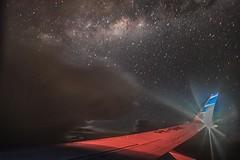 """นั่งเครื่องบินอย่างนิ่งดูดาวมาถ่าย""""ทางช้างเผือก""""กัน      http://nuclear.rmutphysics.com/blog-sci7/?p=1794"""
