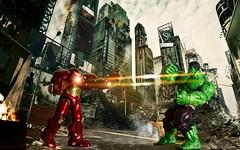 Hulkbuster vs. Hulk (nin2k5) Tags: hulk marvel incredible avengers select toyphotography hulkbuster