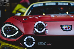 Abarth 124 Rally (EmmeDiPhotography) Tags: show photography spider geneva fiat rally automotive spyder 124 motor abarth genevamotorshow 2016 emmedi