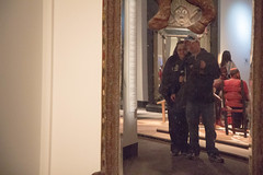 me and nathalie. field museum. 2015 (timp37) Tags: chicago reflection me field museum mirror illinois nat nathalie april 2015
