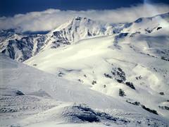 Mt.Okutoppu (threepinner) Tags: mamiya japan spring 55mm   positive f28 hokkaidou northernjapan sekor mashike m645   mountainsnaps mtshokanbetsu  mtokutoppu mtoshirarika