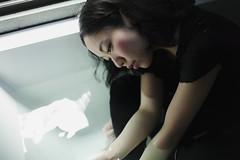 Mie (takasuii) Tags: portrait people woman japan female asian bathroom japanese tokyo