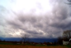 There is a storm brewing... (LaLa83) Tags: blue ohio sky storm weather clouds grey march spring sony thunderstorm alpha stormclouds 2016 a230 fairfieldcounty ruralohio stoutsville ohiofoothills