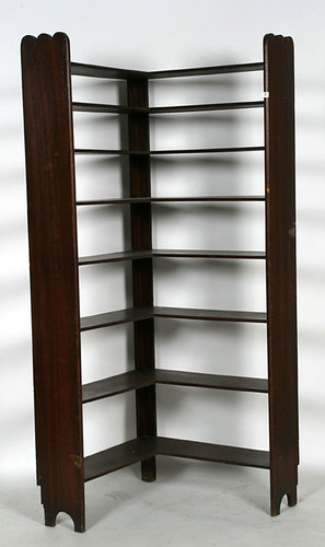 Walnut Country Corner Shelf - $522.50