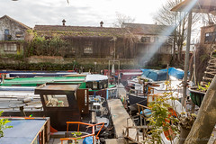 5D3_9215.jpg (x1martin) Tags: road water wheel river island canal day open union johnson houseboat grand catherine brewery artists wharf brent tap narrow boar malthouse brentford moorings narowboat