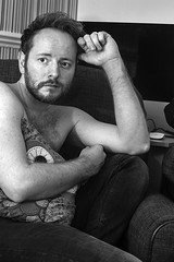 (Photometography) Tags: gay blackandwhite hairy man male beard arm