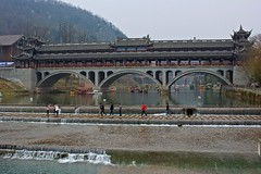 Walking on water (jonarnefoss2013) Tags: china chengdu sichuan kina nikon1 chongzhou