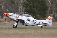Stewart Mustang VH-JWK 2 (joolsgriff) Tags: replica airshow stewart hawkeye mustang 2016 s51 tyabb vhjwk peninsulaaeroclub