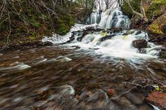 Upper Hungarian Falls (Kevin Pihlaja) Tags: nature river landscape waterfall spring stream michigan upperpeninsula keweenaw dovercreek hungarianfalls upperhungarianfalls