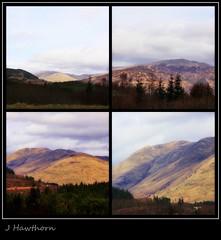 The Trossachs Scotland (jancam25) Tags: mountains collage landscape scotland trossachs