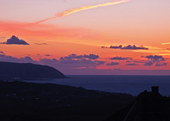 West Quantoxhead - Sunset After Glow 28th April 2016 (David Cronin) Tags: sunset somerset afterglow minehead northhill westquantoxhead