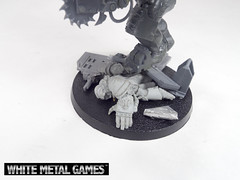 Da Supa Cybork (whitemetalgames.com) Tags: road white max film metal painting movie miniatures nc painted north models mini games raleigh carolina service characters mad bosses commission fury minis orks wmg warboss obliterator cybork warbosses