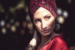 Isaya (polo.d) Tags: light portrait woman girl beauty face bokeh outdoor gipsy gitan tzigane