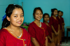Girls in the Dormitory 6053 (Ursula in Aus - Away) Tags: thailand thep maehongson