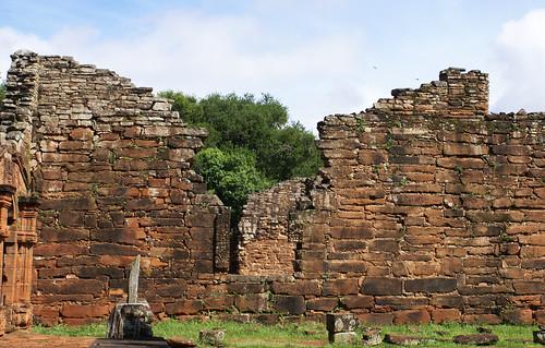Ruins of San Ignacio missions