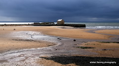 1-IMG_0868 Elie Harbour Fife (marinbiker 1961) Tags: sky people beach kids sand blu elie granary eliefifescotland2016