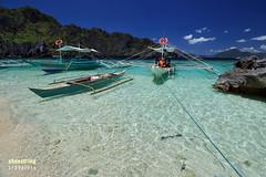 Boats at Shimizu (engrjpleo) Tags: travel sea seascape beach water rock landscape coast boat seaside outdoor philippines shore elnido palawan waterscape shimizuisland