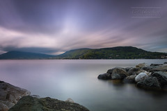 Douce solitude (cedric.chiodini) Tags: longexposure light lake annecy water canon landscape rocks eau lac le paysage roches poselongue canon5dmkiii