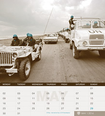 UNIFIL's 2016 Calendar - May (English) (UNIFIL - United Nations Interim Force in Lebanon) Tags: france calendar may unitednations tyre 2016 unifil unitednationsinterimforceinlebanon unifillebanon