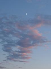 2015-08-21 IMG_3550 (Jo E Stan) Tags: sunset sky clouds montreal ciel moonrise nuages crpuscule coucherdesoleil leverdelune