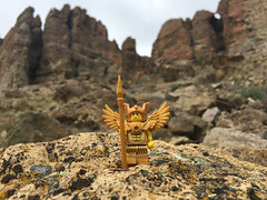 LEGO Collectible Minifigures Series 15 : Flying Warrior (wiredforlego) Tags: oregon toy lego plastic minifigure johnday cmf 71011 clarno