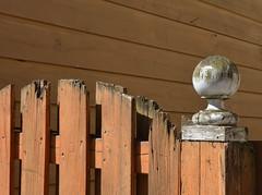 knobby gatepost (mcfcrandall) Tags: toronto outdoors topw torontophotowalks topwpark