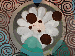 DSC09459 (scott_waterman) Tags: detail ink watercolor painting paper lotus gouache lotusflower scottwaterman