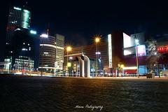 Luxor Rotterdam (Mone-Photography) Tags: city longexposure urban holland netherlands dutch night photography lights rotterdam nacht nederland citylife luxor erasmusbrug wilhelminakade sluitertijd langesluitertijd
