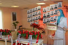 Maryam Rajavi  commemorates the slain residents of Ashraf and hails the perseverance of the Resistance members on the anniversary of April 10, 2011 attack on Camp Ashraf by al-Malikis forces (maryamrajavi) Tags: camp iran iraq leader agent iranian  maryam mek resistance members opposition commemoration fundamentalism slain  ashraf massoud    mko mullahs  rajavi   pmoi   radjavi almaliki oppositionleader mojahedin maryamrajavi  resistanceleader