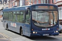 Diamond Volvo B7RLE/Wright Eclipse Urban 30851 (BU08 DBX) (Redditch) (john-s-91) Tags: diamond redditch 30851 volvob7rle wrighteclipseurban bu08dbx redditchroute70