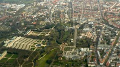 "Potsdam ""Schloss Sanssouci"" from above"