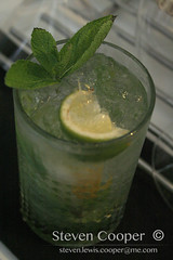 Mojito (Steven Lewis Cooper) Tags: glass leaves drink drinking mint social alcohol mojito rum soda